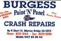 Visit Burgess Paint 'N' Panel